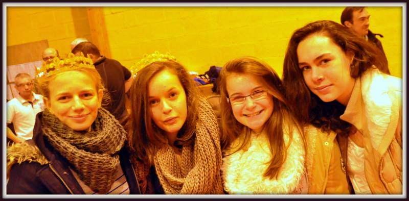 Laurine,Claire,Charline et Lauren
